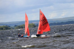 Day 4 Mirror World Sailing Championships on Lough Derg in Tipperary