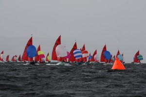 Mirror World Sailing Championships at Lough Derg Yacht Club, Dromineer, North Tipperary