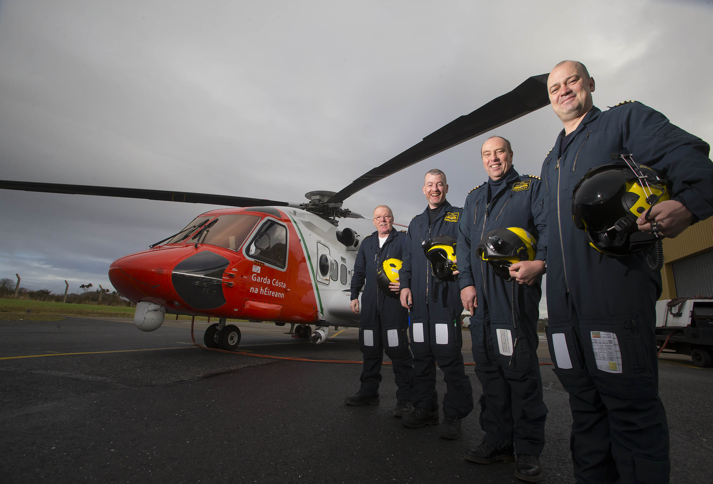 New S92 Irish Coast Guard Search and Rescue Helicopter