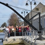 IWAI National Council Members on Boardwalk at Grand Canal Tullamore