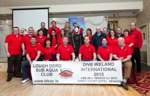 Lough Derg Sub Aqua Club Launch Dive Ireland 2015