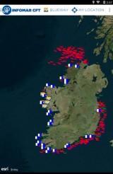 Diving in Ireland app infomar cft