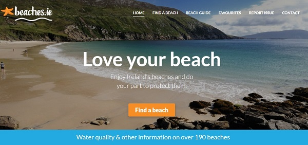 The EPA has today launched beaches.ie, a new mobile enabled website providing information about bathing water at Ireland's beautiful beaches and lakes.