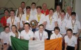 Irish National Masters Life-Saving team took a magnificent silver medal place at the recent international Life Saving Championships