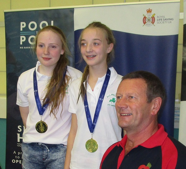 Life savers from Insipre Leisure Centre at the Deaf Village, Cabra, were recent winners at an international competition held in Leeds, England.
